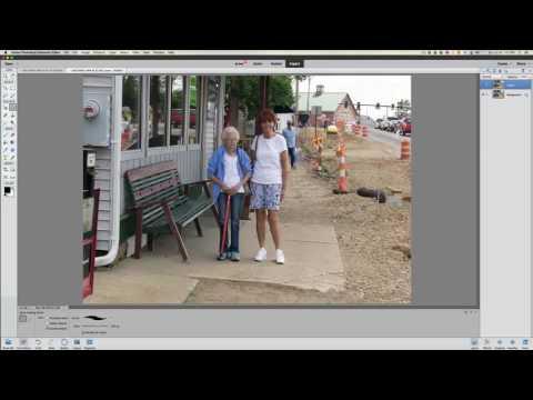 Photoshop Elements Remove Photo Bombers