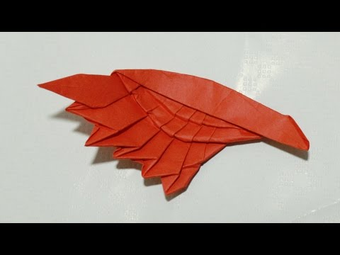 Origami Wing tutorial - DIY (Henry Phạm)