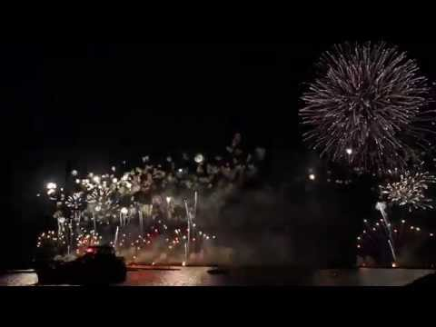 Harborfest Fireworks 2015 Grand Finale in 1080p HD 60fps