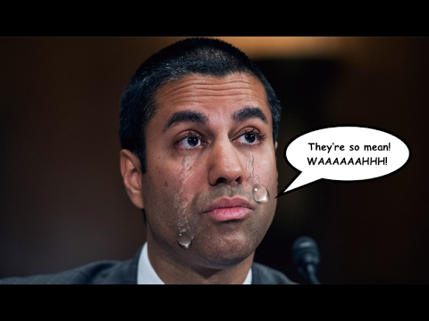 Trump's FCC Chairman Cries About Backlash After Screwing Over Poor People
