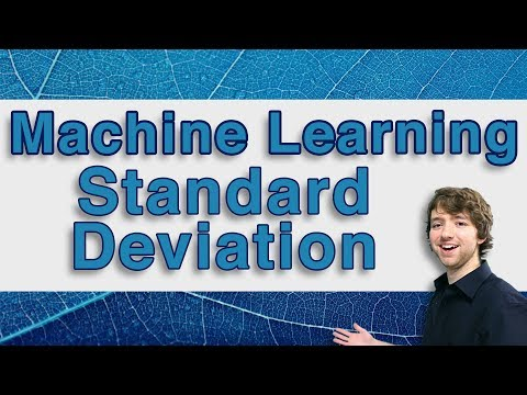 Machine Learning and Predictive Analytics - Standard Deviations - #MachineLearning