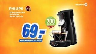 TV-Spot Philips Senseo Viva Café - experten Angebot der Woche