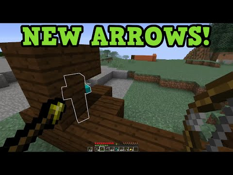 Minecraft 19 New Arrows Spectral Poison Healing Arrows