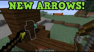 Minecraft 19 New Arrows Spectral Poison Healing Arrows