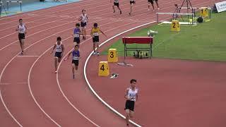 2019全國小學田徑錦標賽國小男4*200公尺接力計時決賽第一組