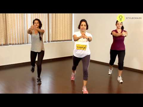 How To Do REVERSE LUNGES EXERCISE For Women