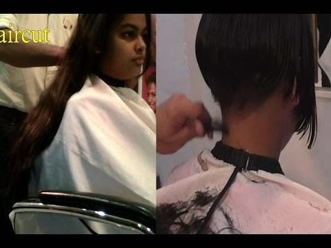 Makeover Haircut Part 9 (Mushroom Haircut)