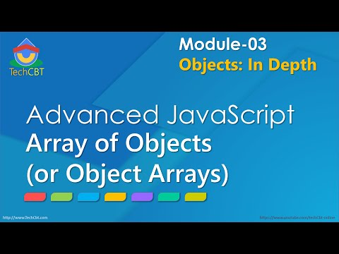 Advanced JavaScript - Module 03 - Part 06 - Array of JS Objects