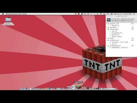 Creating a Minecraft Server - Mac 2012