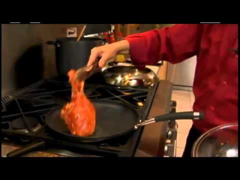 How to Cook Glazed Grilled Pork Chops with Asparagus - Dinner Recipe - Circulon Presents Martin Yan