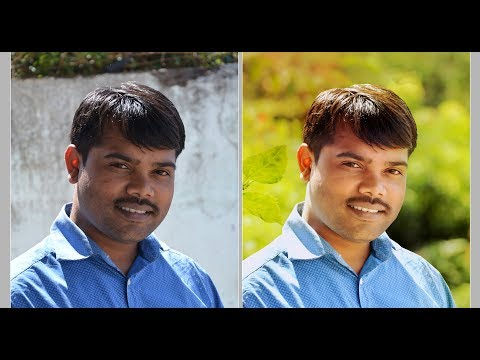Photoshop Tutorial in hindi  Layer Mask under to Brightness Images