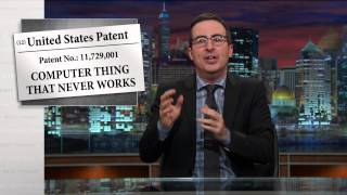 Patents: Last Week Tonight with John Oliver (HBO)