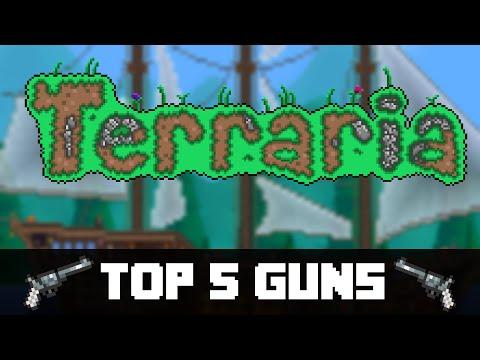 Top 5 Guns in Terraria! (PC, CONSOLE, VITA)