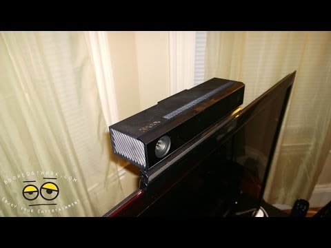 PDP Xbox One Kinect TV Mount Unboxing, Setup & Review