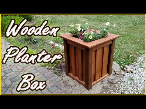 DIY PLANTER BOX | Treated Wood