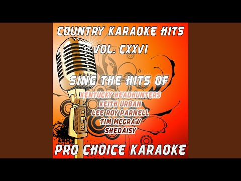 You Can't Get There from Here (Karaoke Version) (Originally Performed By Lee Roy Parnell)