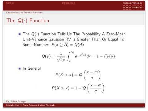 Fundamentals of Probability Theory (7/12): Gaussian Random Variables