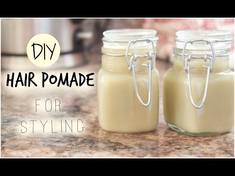 DIY Hair Pomade for Styling - Braids, Twists, Bantu Knots & More!