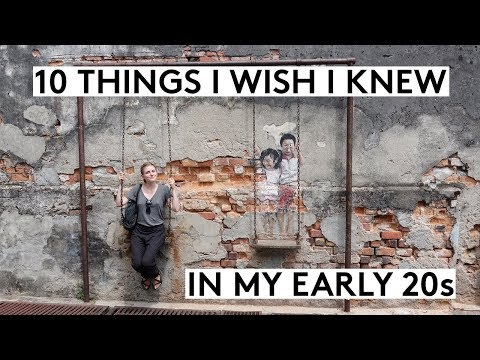 10 THINGS I WISH I KNEW IN MY EARLY TWENTIES feat. Simple Happy Zen