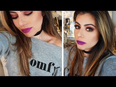 FALL MAKEUP TUTORIAL | Kylie Jenner Palette Inspired Eye Shadow Look