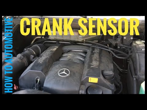 How to Replace the Crank Sensor on a Mercedes ML320