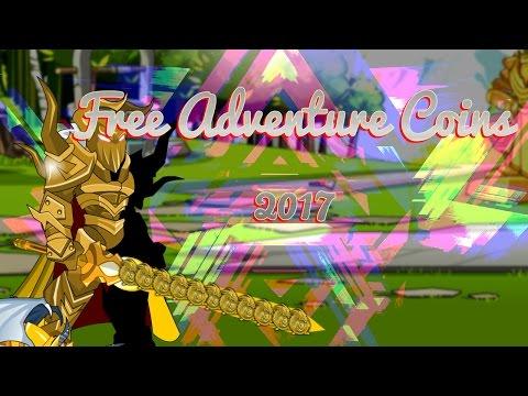 ⌠Aqw⌡ | Free Acs |【750 Adventure Coins Free !】【2017】