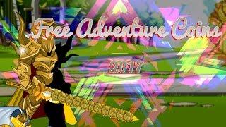 ⌠aqw⌡   Free Acs  【750 Adventure Coins Free !】【2017】