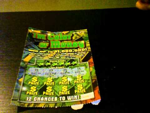 The Color of Money New York Instant Win Scratch Lotto Ticket