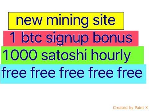 get 1 btc signup bonus and start minning - PakVim net HD