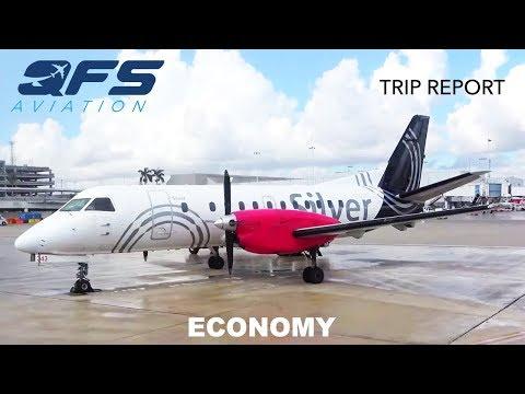 TRIP REPORT   Silver Airways - Saab 340B+ - Ft. Lauderdale (FLL) to Key West (EYW)   Economy