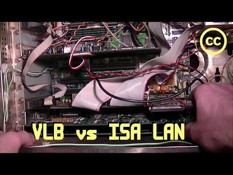 ISA vs VLB Ethernet
