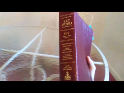 Hebrew Greek Keyword Study Bible 2017 - AMG Publishers - Cosmos Kosmos G2889 Part 1