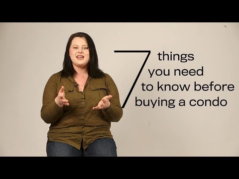 7 things you need to know before buying a condo
