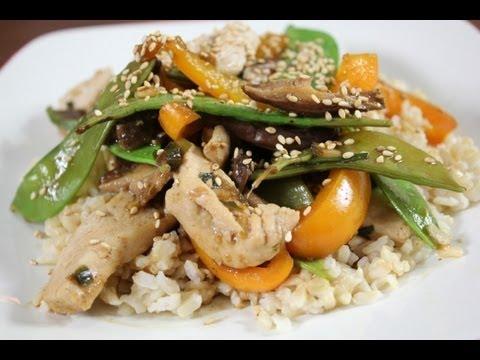 Hoisin Chicken Stir Fry Recipe
