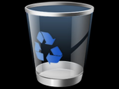 Fix The Recycle Bin Icon Is Missing From Your Desktop In Windows 7 Step By Step Tutorial