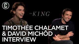 The King: Timothee Chalamet & David Michod Interview