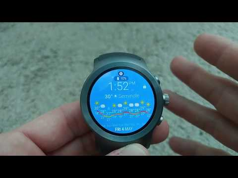 How To Switch an Android Wear 2.0 Watch from Bluetooth to Cellular Mode (Stand-Alone Mode)