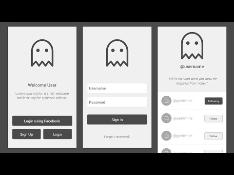 How to design Wireframe using Sketch 3 Tutorial
