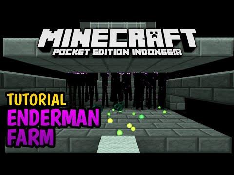 Cara Membuat Enderman Farm di Minecraft PE!
