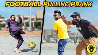 Football Pulling Prank | Funny Reactions | Dumb TV 2021