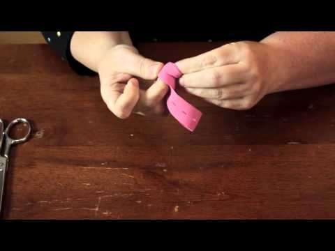 How to Make a Knotted Ponytail Holder : Cool & Functional Crafts
