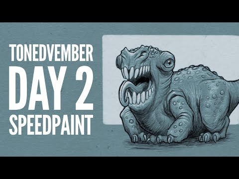 Tonedvember Day 2 Speedpaint