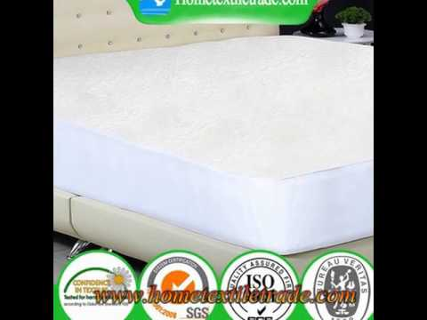 Fitted Cot Bed Protector Baby Waterproof Mattress Cover Sheet