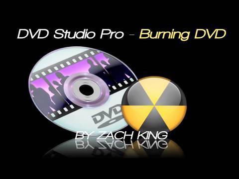 DVD Studio Pro - Burning a DVD