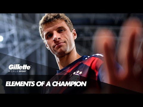 Thomas Müller on the elements of a Champion | Gillette World Sport