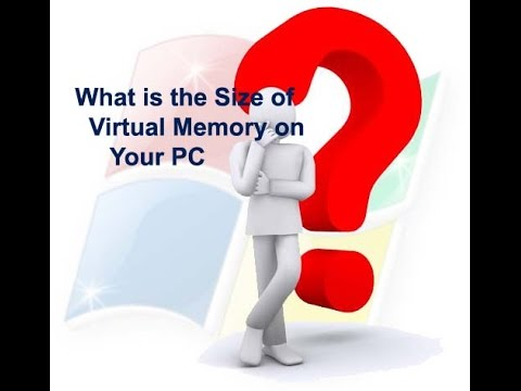 how to create virtual Memory in windows 10 ?