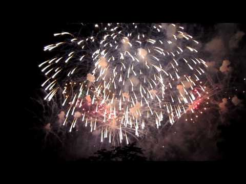 Boston Fireworks 2011  - Independence Day - Fourth of July - 7/4/2011