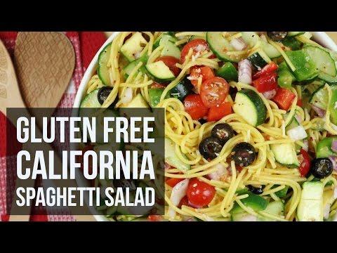 California Spaghetti Salad | Healthy Gluten Free Summer Salad Recipe by Forkly