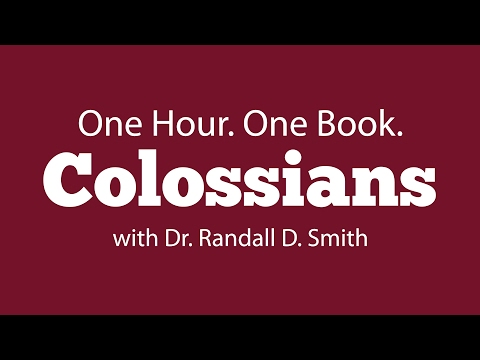 One Hour. One Book: Colossians