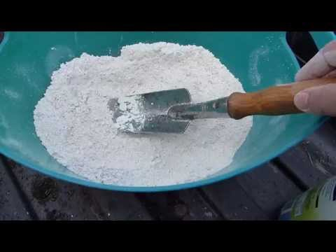 GETTING RID OF ANTS WITH DIATOMACEOUS EARTH / DE